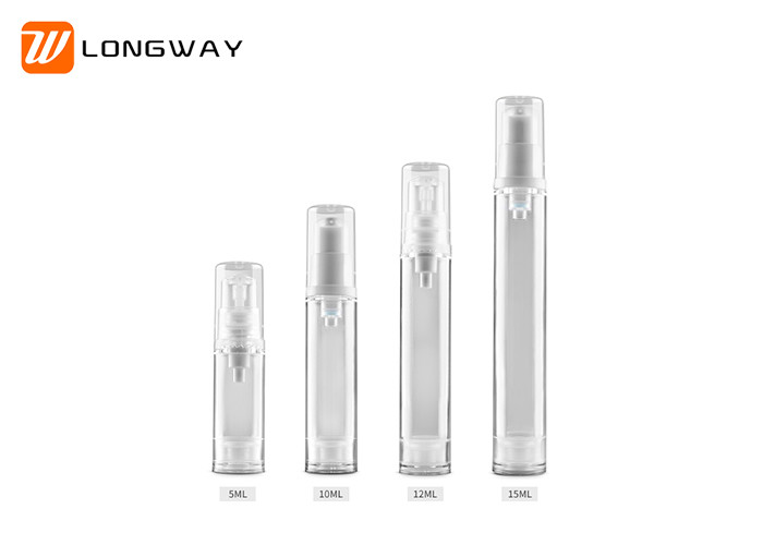 Easy Carry Airless Makeup Pump Bottle , Travel Size Perfume Spray Bottle